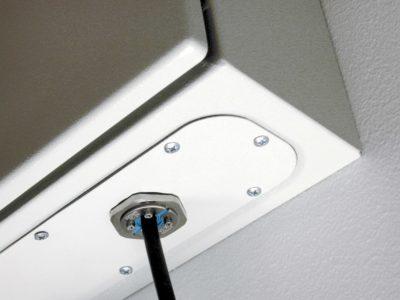 Одиночный ввод кабеля в шкаф