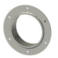 Гильза стальная с фланцем SLFR 150 164/151-55мм AISI 316