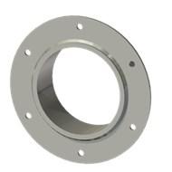 Гильза стальная с фланцем SLFR 125 140/126-55мм AISI 316