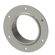 Гильза стальная с фланцем SLFR 127 140/128-55мм