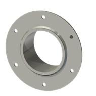 Гильза стальная с фланцем SLFRS 100 114/101-65мм
