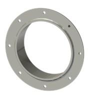 Гильза стальная с фланцем SLFRS 200 214/201-65мм AISI 316