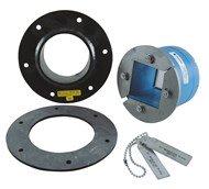 Набор резино-металл. зажима R 100 B Ex AISI 316/primed