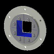 Набор резино-металл. зажима R 125 B Ex AISI 316/AISI 316
