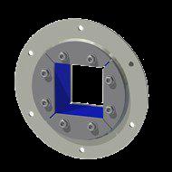 Набор резино-металл. зажима R 150 B Ex AISI 316/AISI 316
