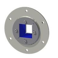 Набор резино-метал. зажима R 100 B Ex AISI 316/GALV