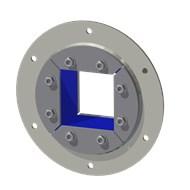 Набор резино-метал. зажима R 150 B Ex AISI316/GALV