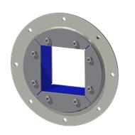 Набор резино-метал. зажима R 200 B Ex AISI316/GALV