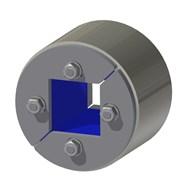Набор резино-металл. зажима R 75 W Ex AISI 316/primed