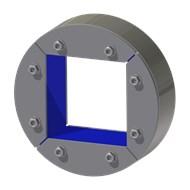 Набор резино-метал. зажима R 200 W Ex AISI 316/primed