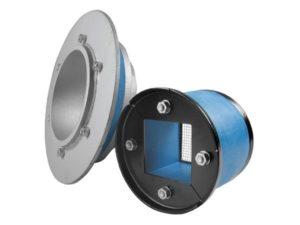 Набор резино-метал. зажима R X 100 galv/galv