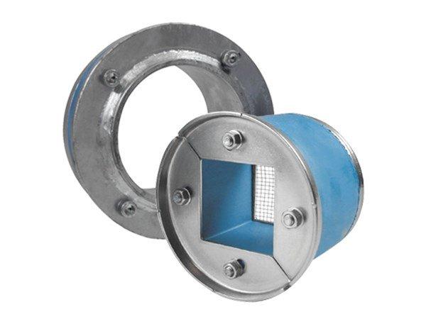 Набор резино-метал. зажима R X 100 AISI 316/galv