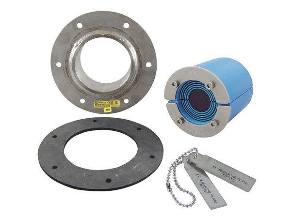 Набор резино-метал. зажима RS 75 B Ex AISI 316/AISI 316