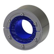 Набор резино-метал. зажима RS 125 W Ex AISI 316 woc/AISI 316