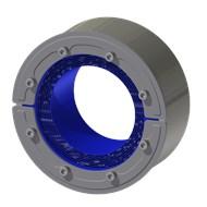 Набор резино-метал. зажима RS 150 W Ex AISI 316 woc/AISI 316