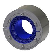 Набор резино-метал. зажима RS 125 W Ex AISI316/primed