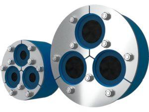 Резино-металлический зажим H3-150 Insertable