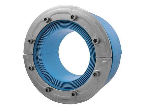 Резино-метал. зажим RS 150 OMD AISI 316 woc в комплекте