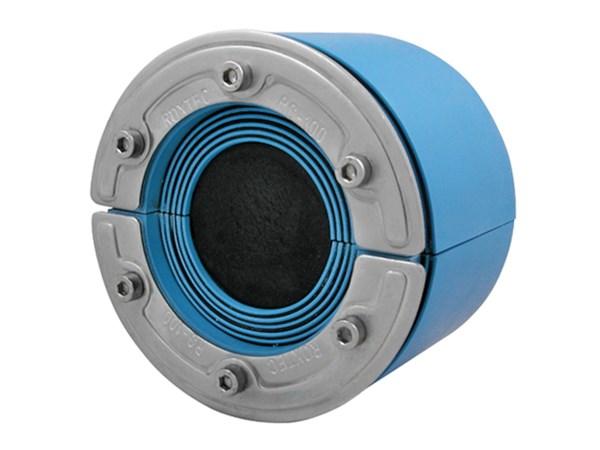 Резино-метал. зажим RS 125 OMD AISI 316 в комплекте