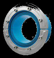 Резино-метал. зажим RS 150 AISI 316 woc в комплекте