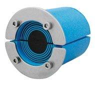 Резино-метал. зажим RS 68 AISI 316 в комплекте