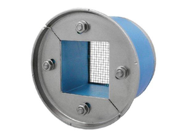 Резино-метал. зажим R 100 AISI 316 в комплекте