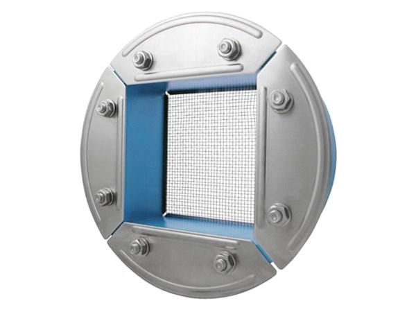 Резино-метал. зажим R 200 AISI 316 в комплекте