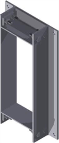 Стальная рама B 8x1 B Ex GALV
