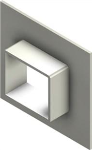 Стальная рама G 2x1 W Ex PRIMED