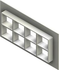 Стальная рама G 2+2x4 W Ex PRIMED