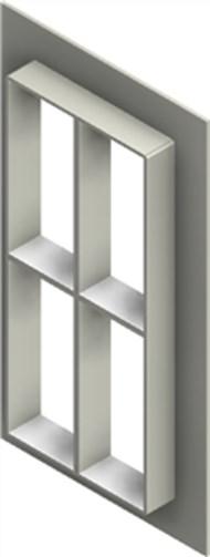 Стальная рама G 8+8x2 W Ex AISI316