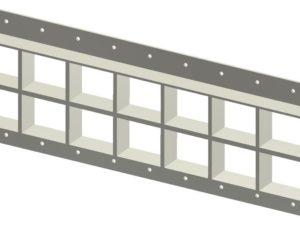 Стальная рама G 2+2x7 Ex primed