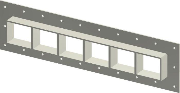 Стальная рама G 2x6 Ex primed