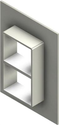 Стальная рама G 2+2x1 AISI 316