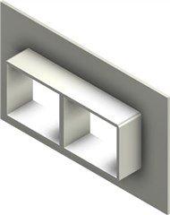 Стальная рама G 2x2 primed