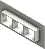 Стальная рама G 2x3 primed