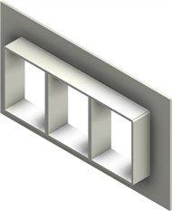 Стальная рама G 4x3 primed