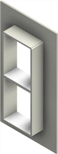 Стальная рама G 4+4x1 primed