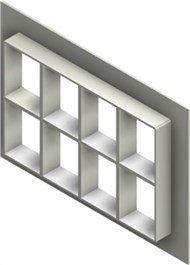 Стальная рама G 4+4x4 primed