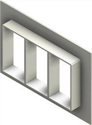 Стальная рама G 6x3 primed