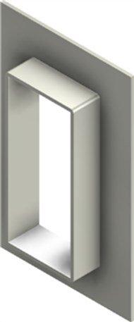 Стальная рама G 8x1 primed