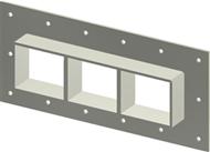Рама Roxtec GHM-2x3-AISI316-INCL-TSL15x6