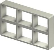 Стальная рама S 2+2x3 Ex PRIMED