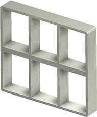 Стальная рама S 4+4x3 Ex PRIMED