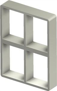 Стальная рама S 4+4x2 Ex PRIMED