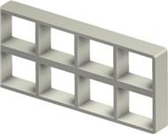 Стальная рама S 2+2x4 AISI316