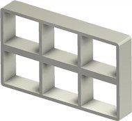 Стальная рама S 2+2x3 primed