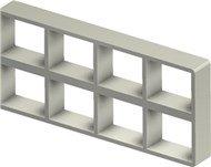 Стальная рама S 2+2x4 primed