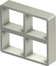 Рама Roxtec S 2+2x2 ALU