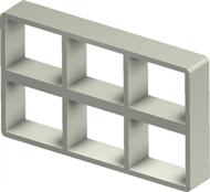 Рама Roxtec S 2+2x3 ALU